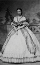 Anna of Prussia wearing a crinoline