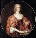 Anna Sophia, Countess of Carnarvon by Sir Anthonis van Dyck (location unknown to gogm)