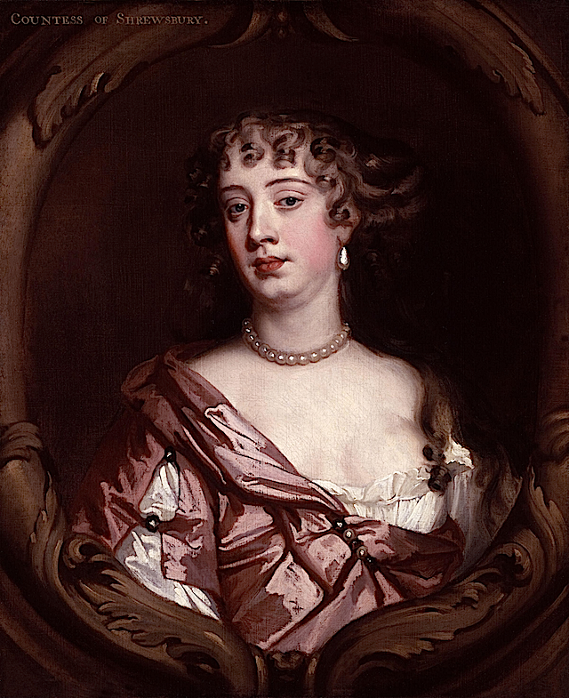 Anna Maria (Brudenell), Countess of Shrewsbury by Sir Peter Lely (National Portrait Gallery, London)