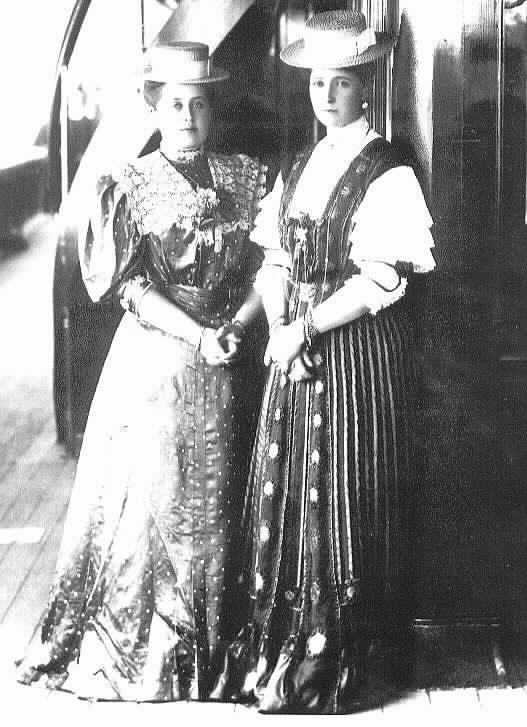 Anna Virubova and Alexandra