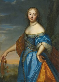 Anne de Rohan-Chabot, Princesse de Soubise by ? (location unknown to gogm) From the lost gallery's Photostream on flickr
