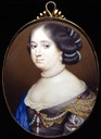Anne Hyde, Duchess of York, James II's first wife by Richard Gibson (location unknown to gogm)