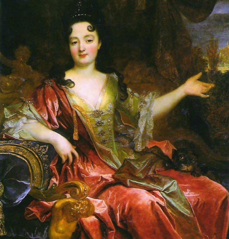 Anne Marie De La Tremoille Duchess Bracciano Attributed To
