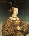 Anne of Hungary and Bohemia, Queen of the Romans by Hans Maler zu Schwaz (location ?) From bjws.blogspot.com:2015:10:1500s-women-of-hungary-bohemia.html