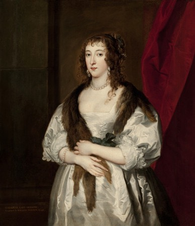 Lady Dalkeith, Anne Villiers by ? (location unknown to gogm) From madameguillotine.org.uk:2011:11:25:X1