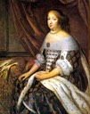 Anne of Austria by Charles Beaubrun (Versailles)
