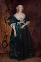 1633-1635 (probably between) Anne Sophia, née Herbert Countess of Carnarvon by Sir Anthonis van Dyck (auctioned by Christie's)