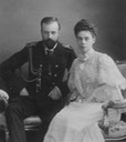 Another photo of Grand Princess Xenia Alexandrovna and Grand Duke Alexander Mikhailovich From adini-nikolaevna.tumblr.com/post/153655251265/grand-duke-alexander-mikhailovich-and-grand detint X 1.75