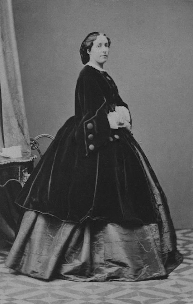 Archduchess Elisabeth Franziska Wearing A Crinoline Under