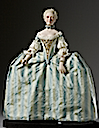 Archduchess Maria Antonia wearing panniers from front by George Stuart figurines