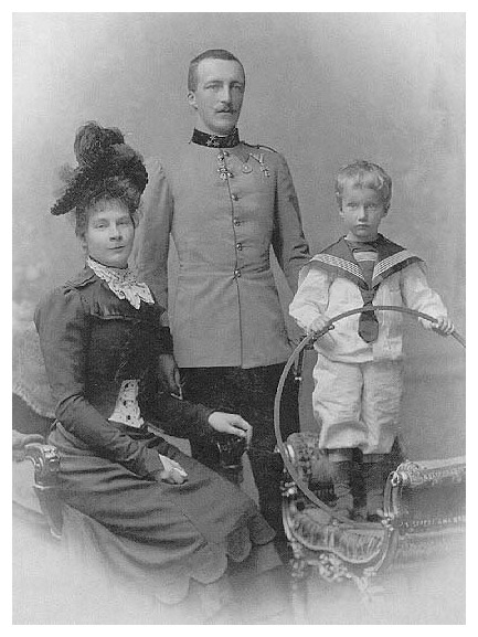 Auguste Bavaria, Archduke Joseph August of Austria, and (probably) Josef Franz APFxbritt.25 29Sep06 detint