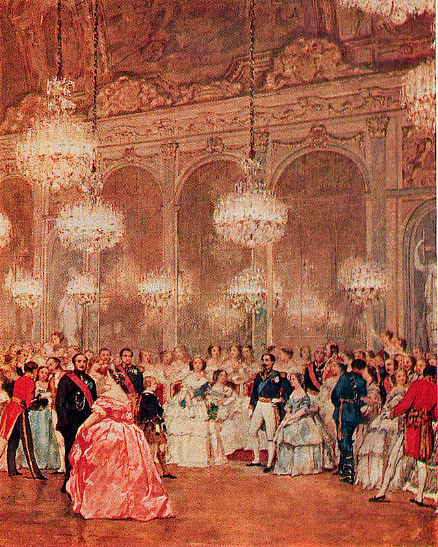 Ball at the Galerie des Glaces, Versailles 25 Aug 1855 Leaves from a Journal by Queen Victoria