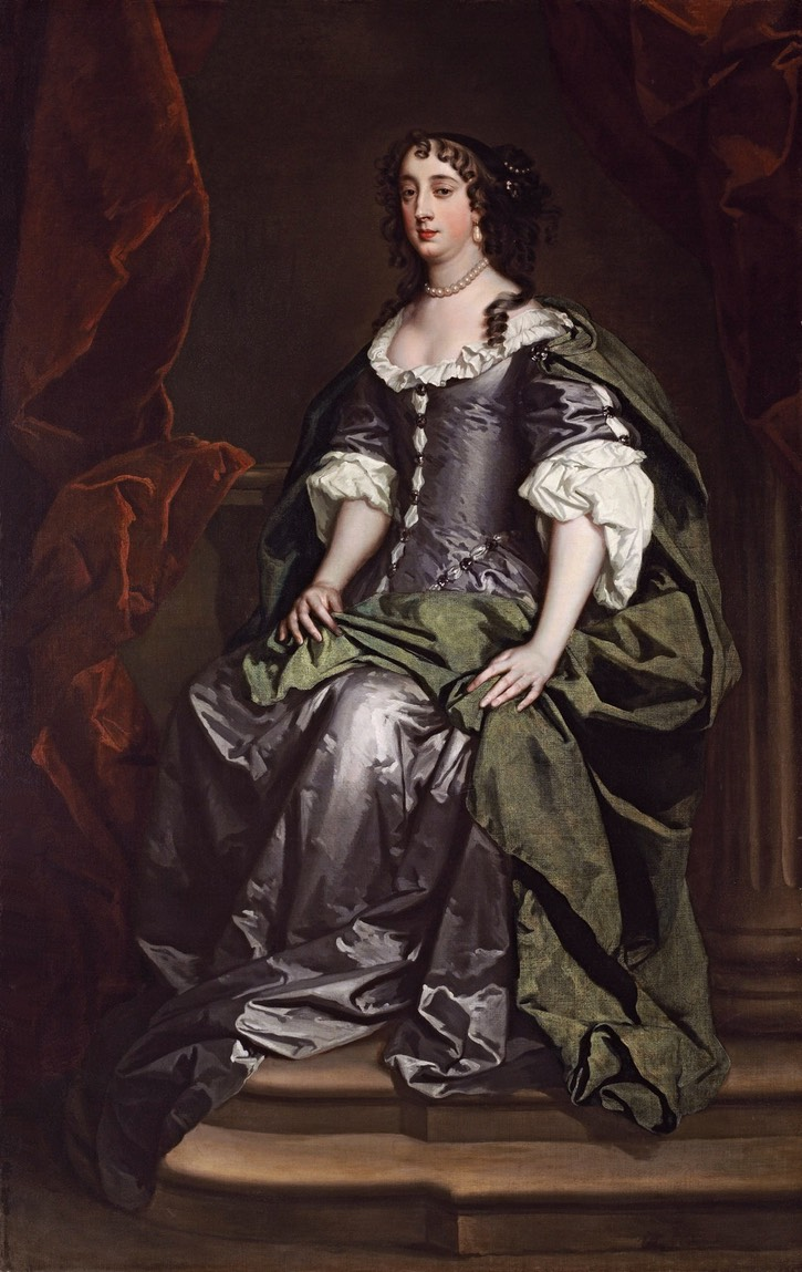 Barbara Villiers Seated By Lely Studio Location Unknown