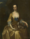 ca. 1735:1740 Lady Mary Bellings-Arundell (1716-1769), Baroness Arundell of Wardour attributed to Enoch Seeman the Younger (Oxburgh Hall - Oxburgh, near Swffham, Norfolk, UK) bbc.co