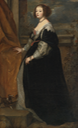 Beatrice de Cusance, Princess of Cantecroix and Duchess of Lorraine by circle of Sir Anthonis van Dyck (auctioned by Sotheby's)