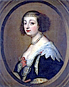 Beatriz Cusance, secret second wife of Charles IV, Duke of Lorraine after Sir Anthonis van Dyck (location unknown to gogm)