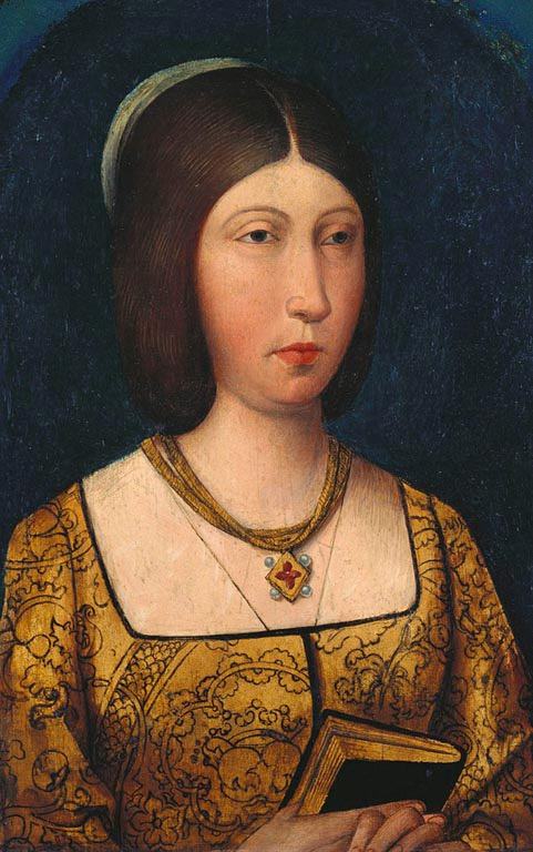 Ca 1489 Isabella I Of Spain Queen Of Castille Attributed