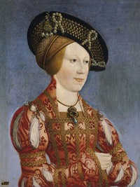 ca. 1520 Anne of Bohemia and Hungary by Hans Maler (Museo Thyssen-Bornemisza - Madrid, Spain)