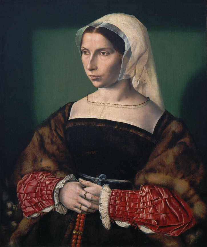 ca. 1535 Anne Stafford by Ambrosius Benson (St. Louis Art Museum - St. Louis, Missouri, USA)