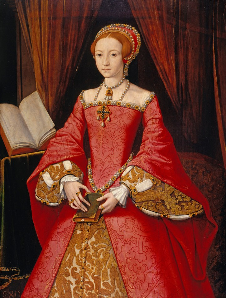 ca. 1546 Elizabeth I when Princess by William Scrots (?) (Royal Collection) From liveinternet.ru:users:marylai:post292168318 UPGRADE