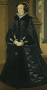 ca. 1546 Lady, probably Margaret Douglas by William Scrots (auctioned by Sotheby's)