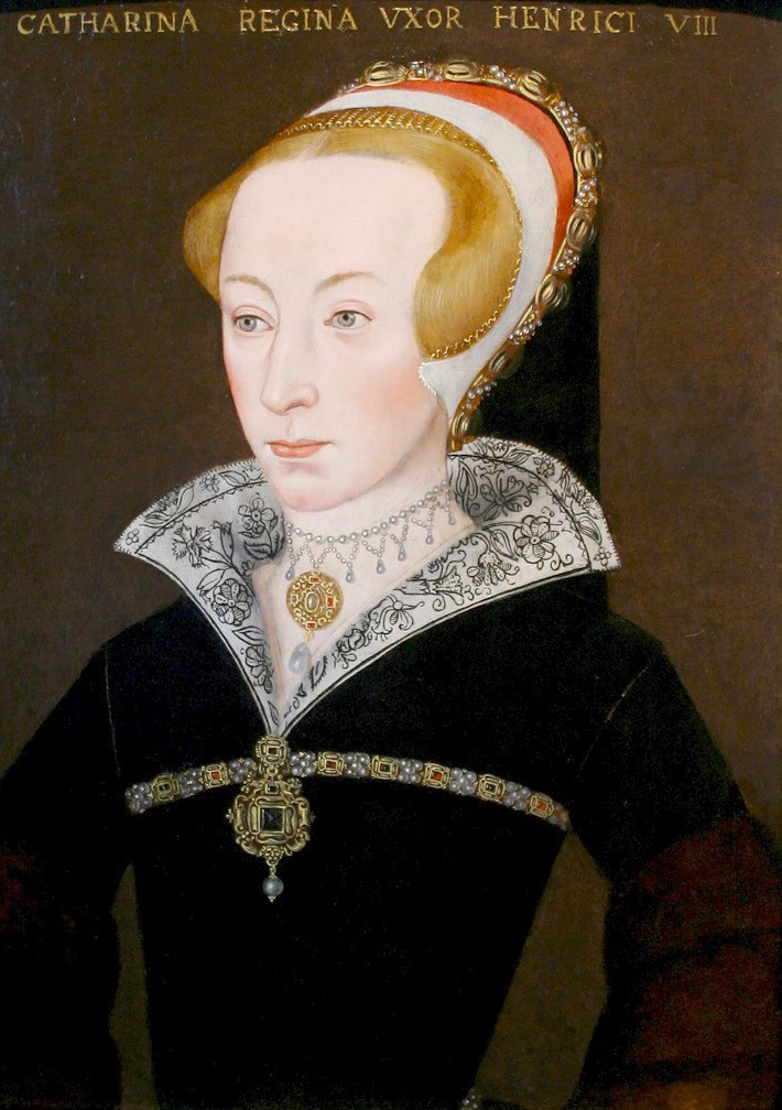 ca. 1548 Catherinen Parr by English School after Eworth (auctioned by Sotheby's) Wm