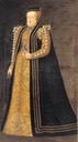 ca. 1557 Catherine of Austria by Monogrammist PF (Germanisches Nationalmuseum - Nuremberg Germany)