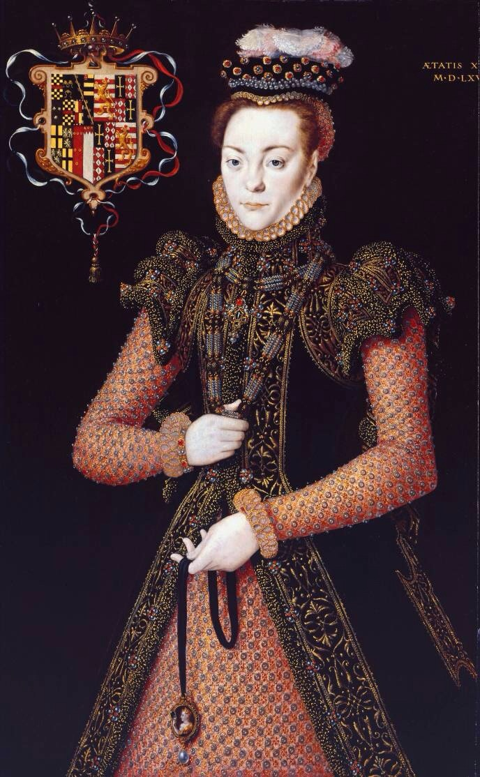 ca. 1565-1568 Unknown Lady, possibly Margaret Clifford Lady Strange by Hans Eworth (Tate Collection - London, UK) From liveinternet.ru:users:loreleya-62:post344151039: