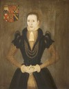 ca. 1571 Ann Danby (b.1534), Lady Calverley, Aged 37 by ? (Wallington Hall - Wallington, Northumberland UK)