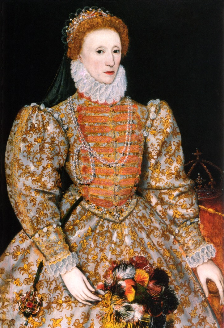 "ca. 1575 ""Darnley"" portrait by ? (National Portrait Gallery - London, UK) UPGRADE From the lost gallery's photostream on flickr despot fixed left edge above skirt"