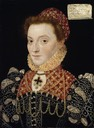 ca. 1575 Elizabeth FitzGerald, Countess of Lincoln attributed to Master of the Countess of Warwick (National Gallery of Ireland - Dublin Ireland)