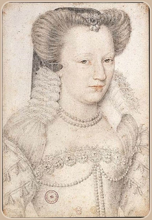 ca. 1575 Louise de Lorraine by Jean Rabel (Bibliothèque nationale de France - Paris, France) UPGRADE