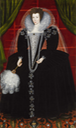 ca. 1600 Lady, probably Elizabeth Southwell née Howard by ? (auctioned by Christie's) Wm