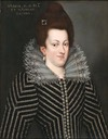 ca. 1600 Maria de Medici by follower of Scipione Pulzone (auctioned by Balclis) From Pinterest search X 2