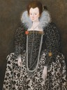 ca. 1600 Woman, Traditionally Identified as Mary Clopton (born Waldegrave), of Kentwell Hall, Suffolk by Robert Peake the Elder (Yale Center for British Art - New Haven, Connecticut, USA) Google Art Project via Wm