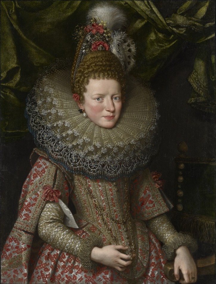ca. 1606 Margherita Gonzaga, Duchess of Lorraine by Frans Pourbus the Younger (location ?) Wm