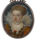 ca. 1609 Magdalene Sibylle of Prussia (1586-1659) by ? (Bonham's)
