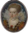 ca. 1609 Magdalene Sibylle of Prussia (1586-1659) by ? (auctioned by Bonhams)