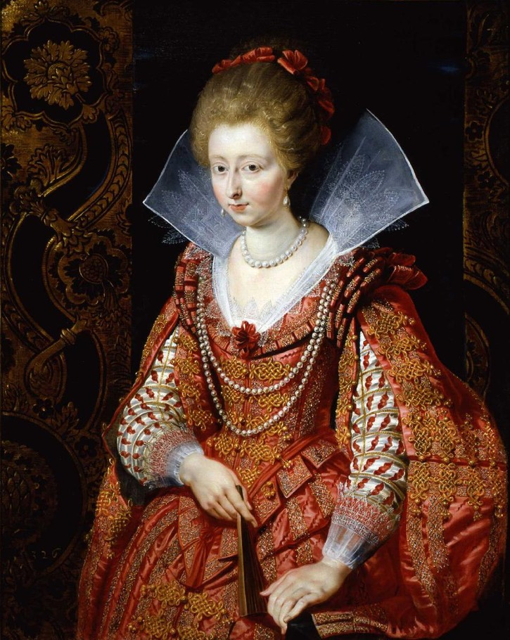 1610 Charlotte-Marguerite de Montmorency, Princess of Condé by Peter Paul Rubens (Frick Museum - Pittsburgh, Pennsylvania, USA) From the museum Web site