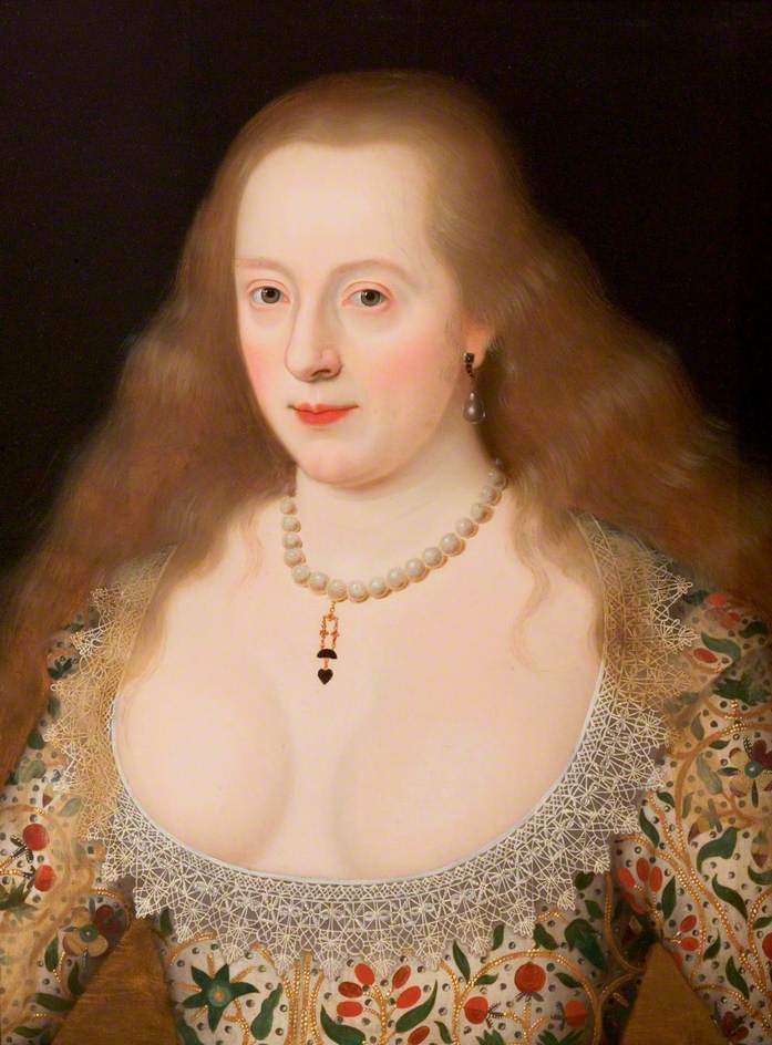 ca. 1615-1620 Frances Howard Duchess of Richmond by Marcus Gheeraerts the Younger (Compton Verney Gallery - Compton Verney, Warwickshire, UK) Wm