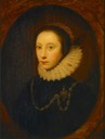 ca. 1620 Countess of Exeter, Elizabeth Drury by Cornelius Janssen van Ceulen (Milwaukee Art Museum - Milwaukee, Wisconsin, USA) From Museum's Web site shadows inc. exp