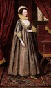 ca. 1620 Magdalen Poultney, later Lady Aston attributed to Marcus Gheeraerts the Younger (Art Gallery of South Australia - Adelaide, South Australia, Australia)