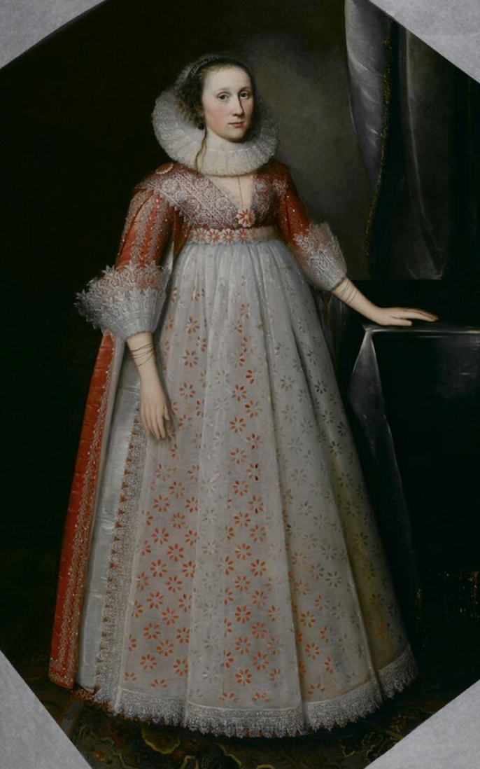 """ca. 1629"" Young noblewoman by Daniel Mytens the Elder (Norton Simon Museum - Los Angeles, California, USA) From the museum's Web site"