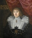 ca. 1630 Margaret Whitmore (c.1576–1637), Lady Grobham, Second Wife of Sir John St John, 1st Bt by ? (Lydiard House - Lydiard Tregoze, Swindon, Wiltshire UK)