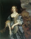 ca. 1638 Anne Carr, Countess of Bedford by Sir Anthonis van Dyck (private collection) UPGRADE From pubhist.com/w13468 X 1.5