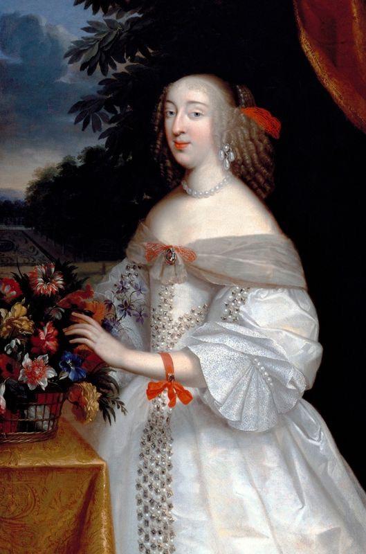 Ca 1650 Anne Marie Louise D Orleans By Louis Ferdinand Elle