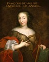ca. 1664 Françoise Madeleine d'Orléans, Mademoiselle de Valois prior to her marriage by the Beaubrun brothers workshop (location unknown to gogm)