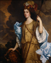 ca. 1665 ca. 1665 Windsor Beauty Barbara Palmer, 1st Duchess of Cleveland as Minerva, the Roman goddess of war and wisdom by Sir Peter Lely (Royal Collection, Hampton Court Palace) From spenceralley.blogspot.com:2014:08:windsor-beauties.html
