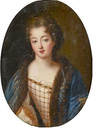 ca. 1690 Mademoiselle de Blois (Françoise Marie de Bourbon, daughter of Louis XIV of France) by ? (location unknown to gogm)