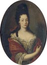 ca. 1690 Maria Angela Caterina d'Este, Princess of Carignan by a follower of Hyacinthe Rigaud (location unkown to gogm)